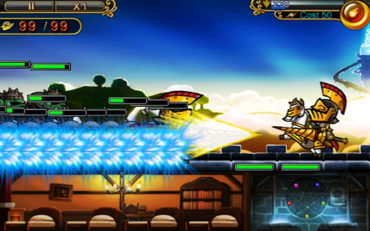 Defender of Diosa Plus- screenshot