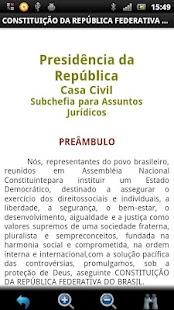 Constituição Brasileira GRÁTIS- screenshot thumbnail