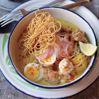 Naomi Duguid's Coconut Sauce Noodles