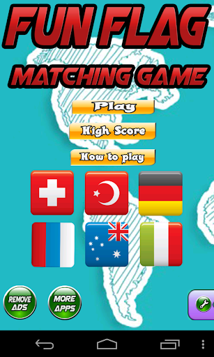 Fun Flag Matching Game