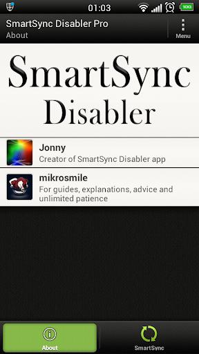SmartSync Disabler Pro