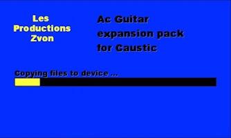 Screenshot of Acoustic Guitar for Caustic