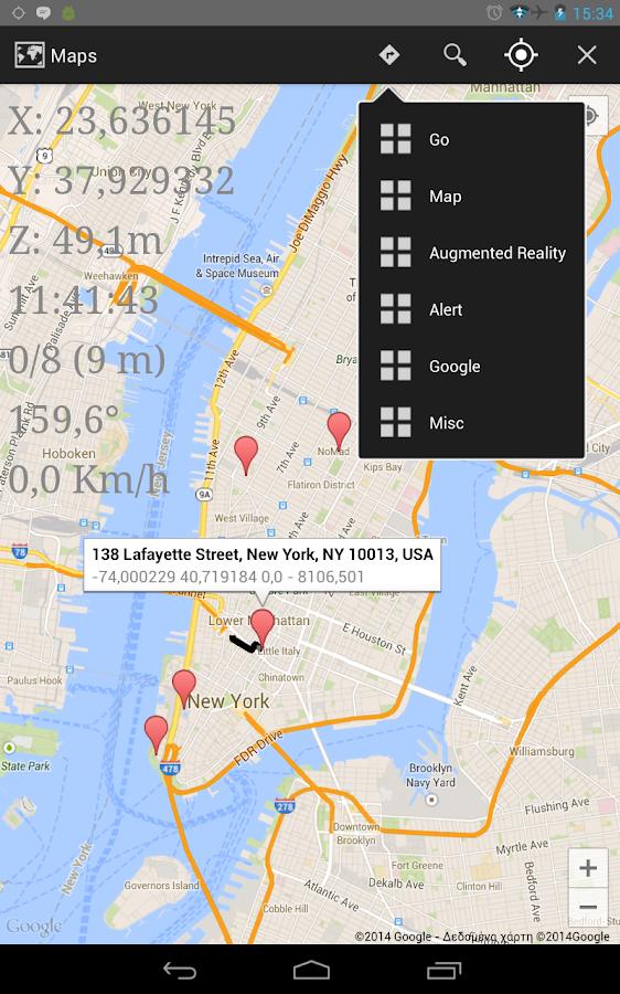 Turbo GPS 3 - screenshot