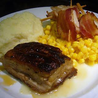 Pan Seared Pork Belly.
