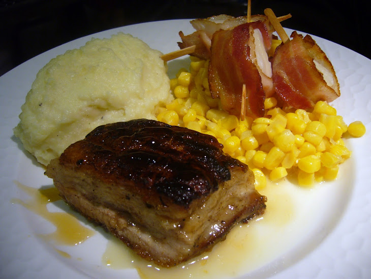 Pan Seared Pork Belly Recipe