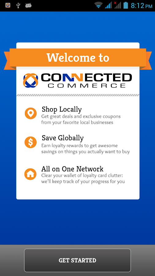 Connected Commerce Rewards- screenshot