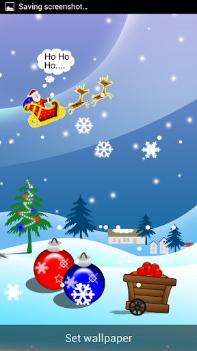 Santa HD Live Wallpaper