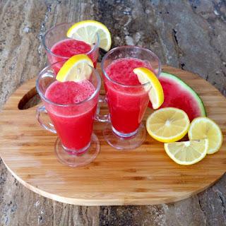 Fresh Watermelon Lemonade