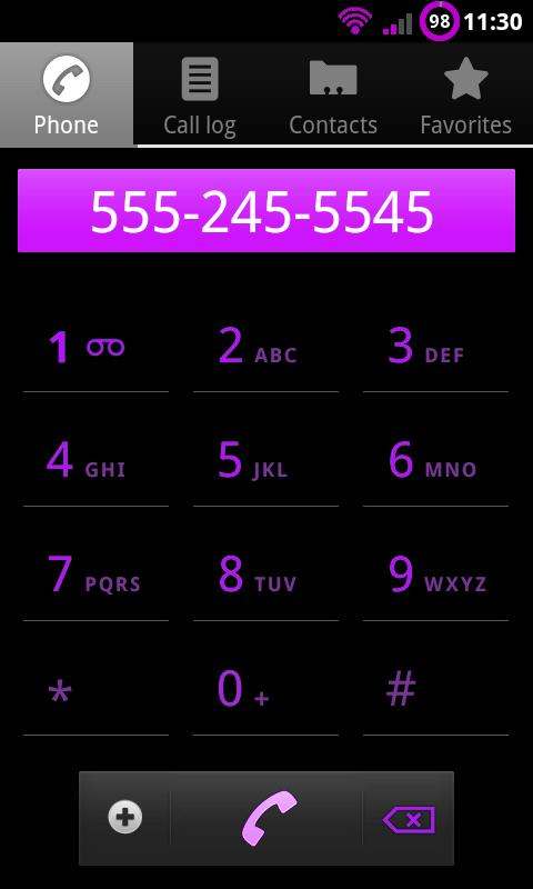 Purple Theme Chooser- screenshot