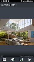 Screenshot of Interior Design Wallpapers