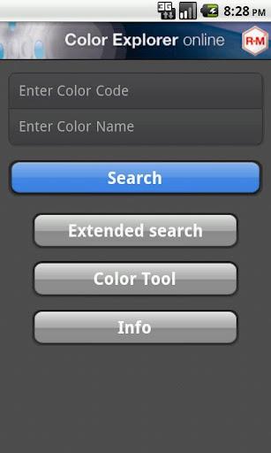 R-M Color-Explorer Online