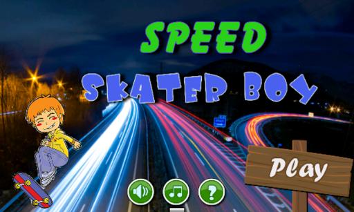 Speed Skater Boy