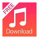 Free mp3 songs download mobile app icon