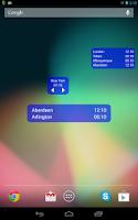 Screenshot of World Clock & Widget