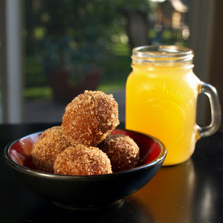 Pumpkin Spice Donut Holes (vegan)