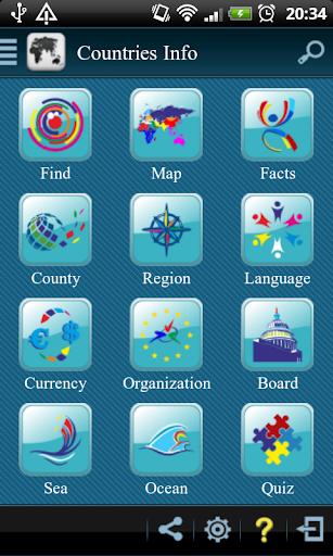 Countries Info Pro