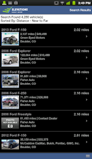 Elevations Credit Union Auto - screenshot thumbnail