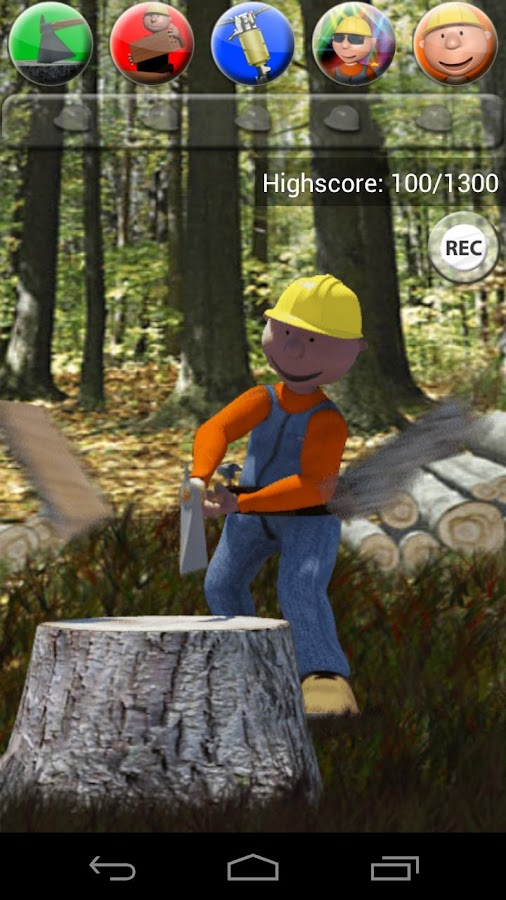 Talking Max the Worker - screenshot