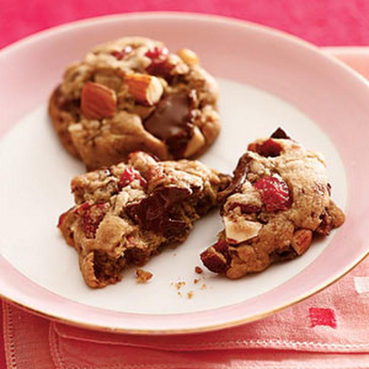 Cherry-Almond-Chocolate-Chunk Cookies Recipe