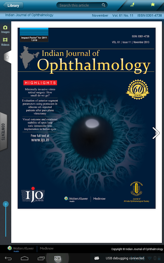 Indian J Ophthalmol- screenshot