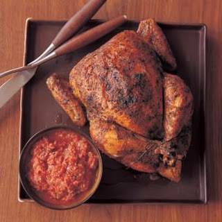 Roasted Chili-Spiced Chicken with Pumpkin Seed Sauce