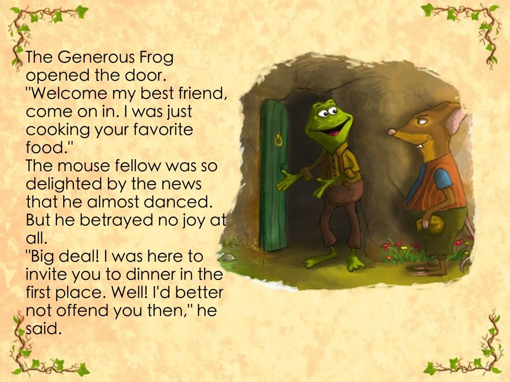 Pinchpenny Mouse storybook- screenshot