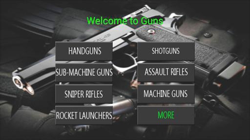 模擬槍 - 武器
