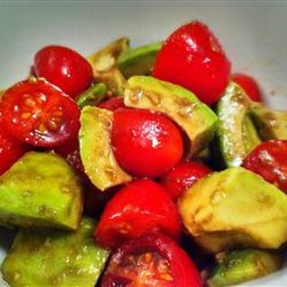 Avocado and Tomato Salad.