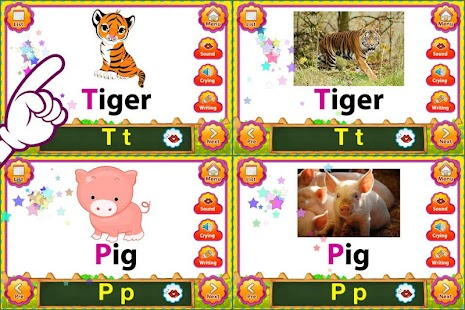 ABC Animal English FlashCards- screenshot thumbnail