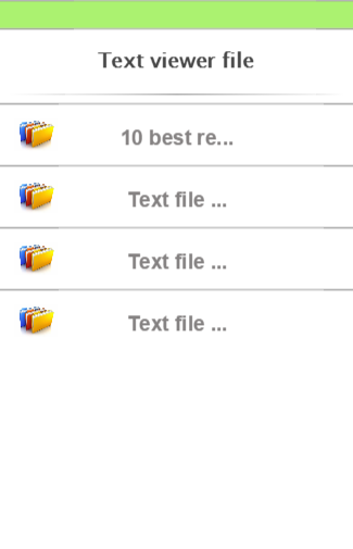 Text viewer file