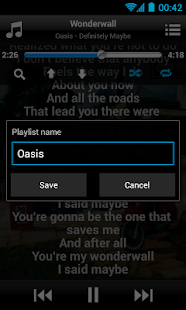 MusicMax Lyrics Player Free - screenshot thumbnail