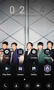 WINNER S/S LINE Launcher theme- screenshot thumbnail