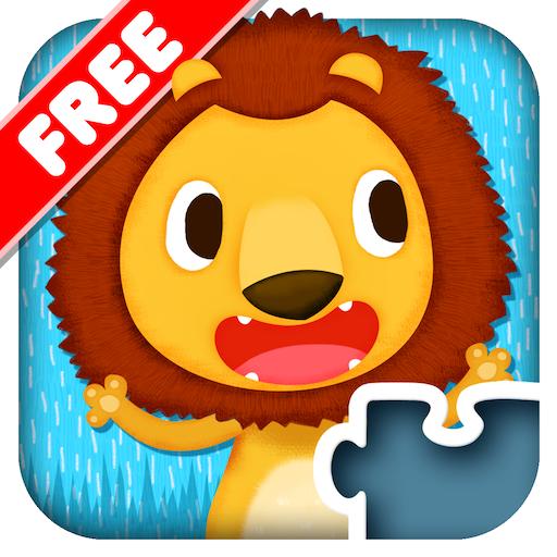 儿童拼图123免费版 - 野生动物篇 教育 App LOGO-APP開箱王