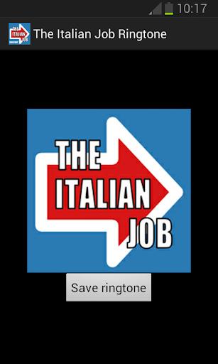 The Italian Job Ringtone
