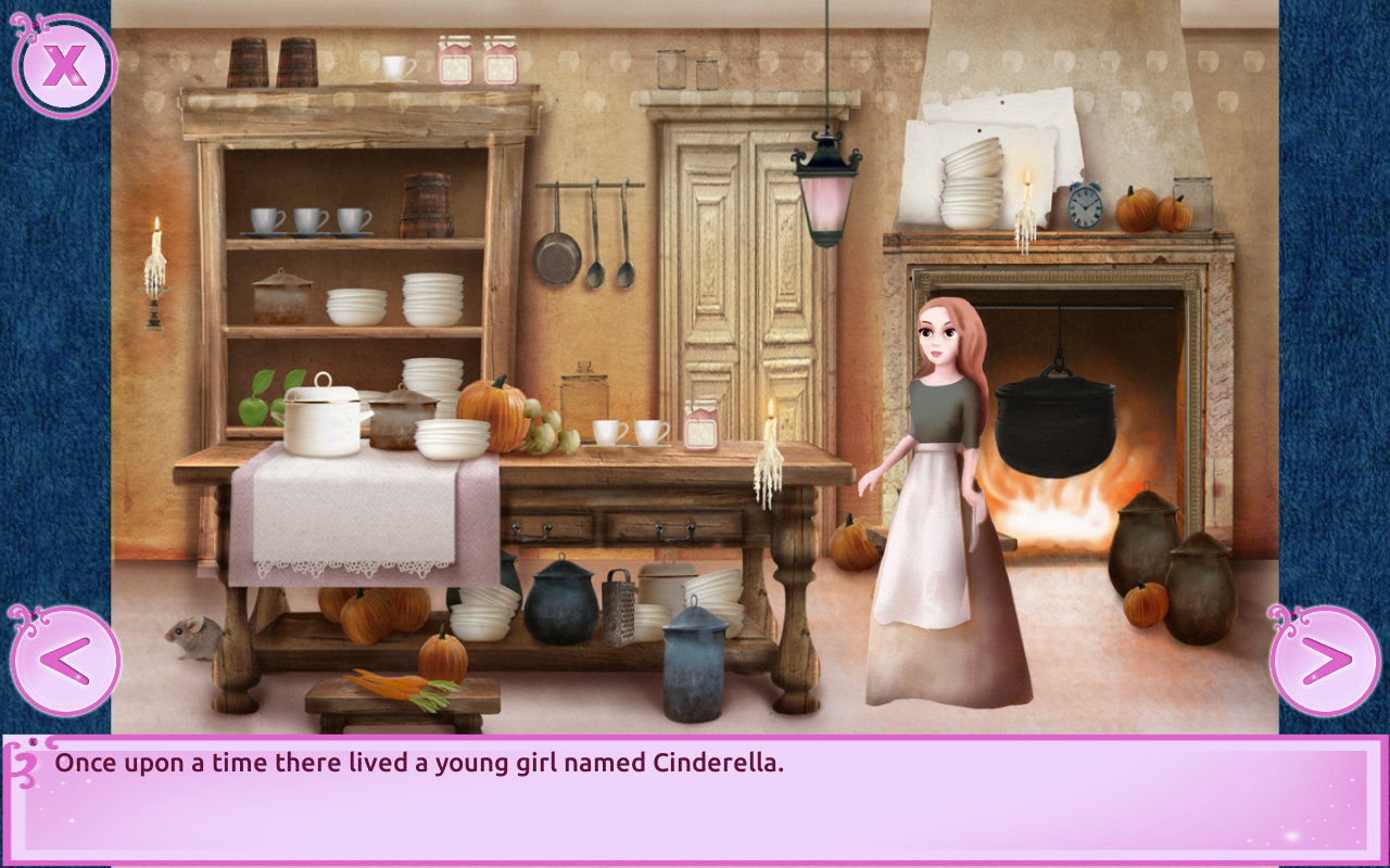Cinderella Story Free - Girls Games- screenshot