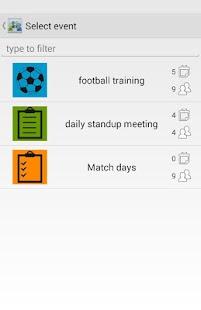 Attendance Tracker - screenshot thumbnail