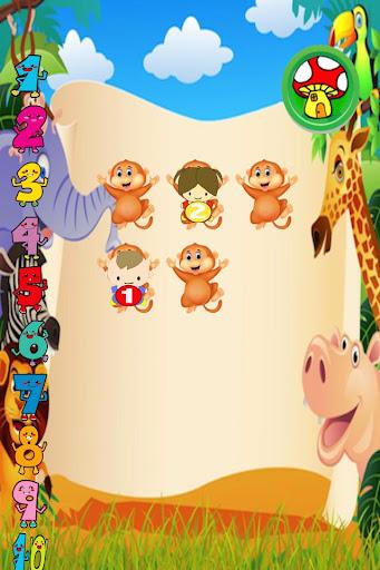 猴子快快乐乐学数数|玩教育App免費|玩APPs