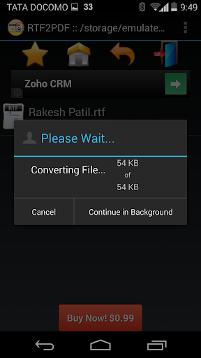 【免費商業App】RTF to PDF Converter-APP點子