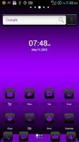Screenshot of ADW Theme DigitalSoul Purple