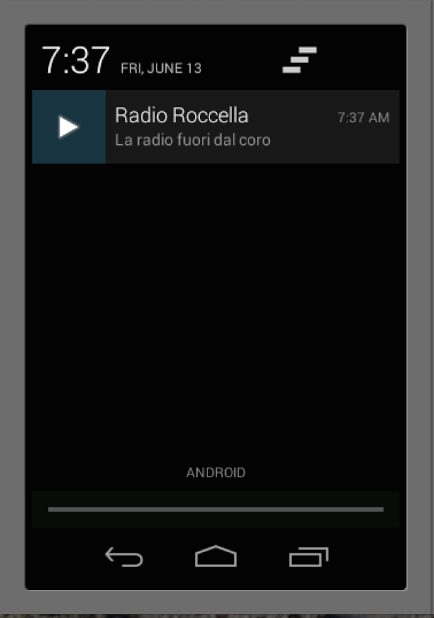 Radio Roccella - screenshot
