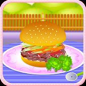 Pork burger cooking games