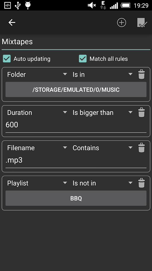 Playlist Manager- screenshot