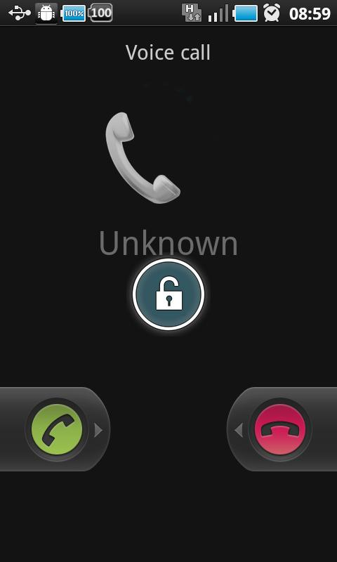 Tiny Call Confirm Plus+- screenshot