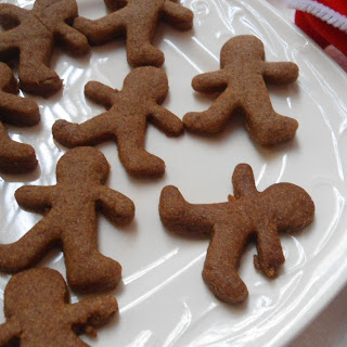 Healthy Gingerman Bread Cookies | Christmas Bakes