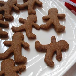 Healthy Gingerman Bread Cookies | Christmas Bakes.