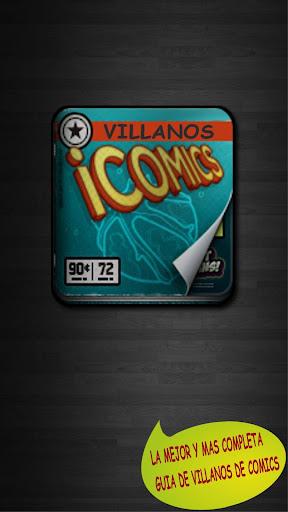 Villanos de Comic