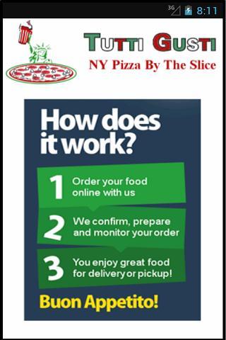 Tutti Gusti NY Pizza
