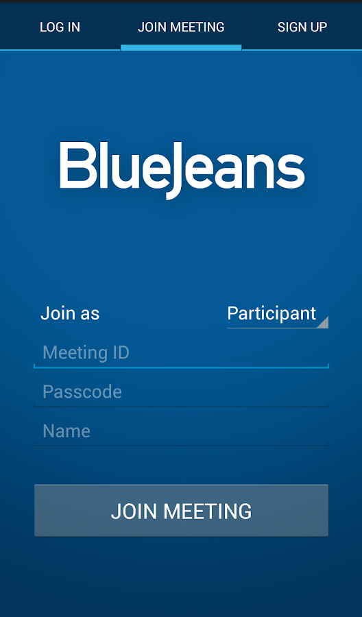 Blue Jeans for Android - screenshot