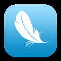 天鹅绒围脖 logo