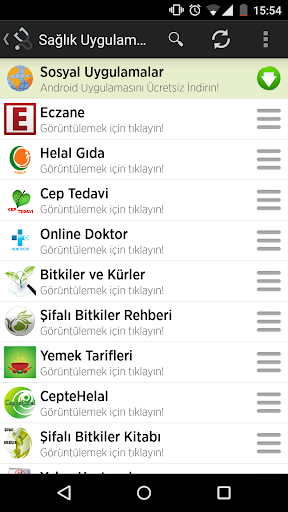 Turkish Health Applications